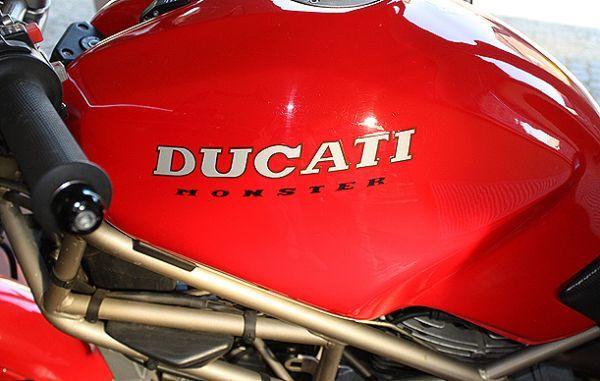 Ducati Paso Tank Cover