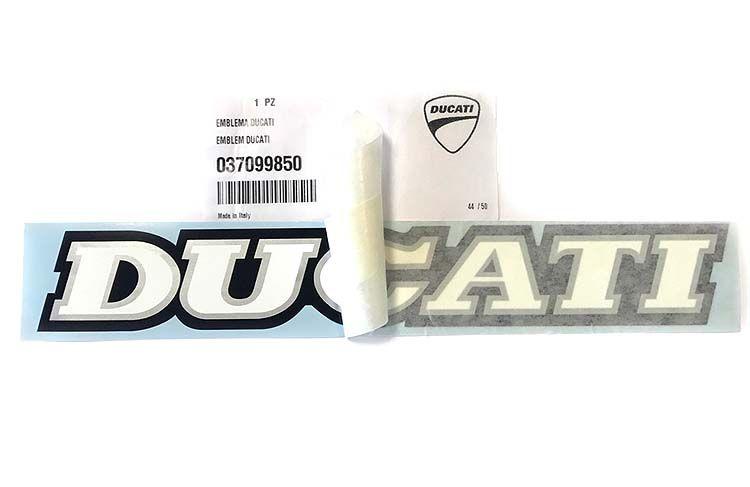 Aufkleber Ducati Schriftzug Tank 235x34mm Stückpreis