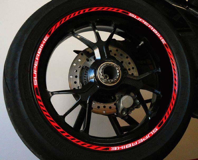 Ducati Corse Rim Stickers