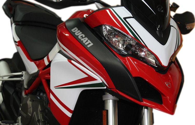 Decal Sticker Kit Tricolore For Ducati Multistrada 1200