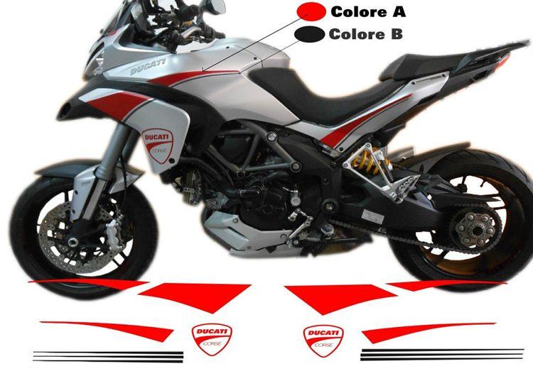 Decal Sticker Kit Ducati Multistrada 1200 Bj 2010 2014