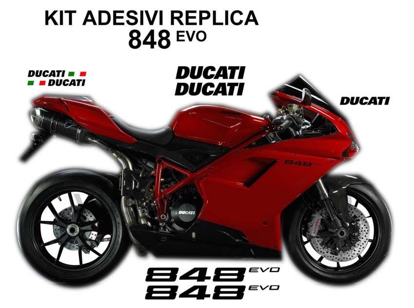 Ducati Corse Sticker Silver