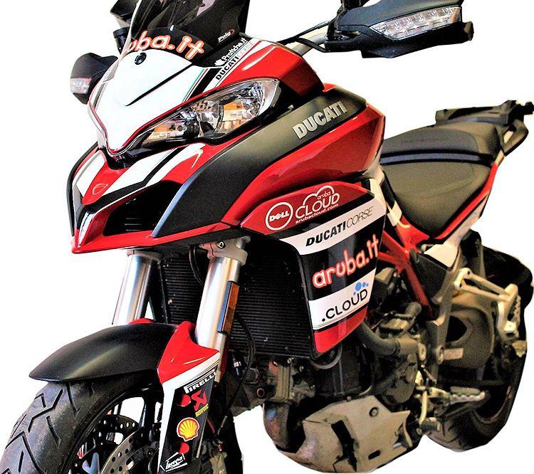 Stickers Kit For Ducati Multistrada 1200 Design Aruba Team