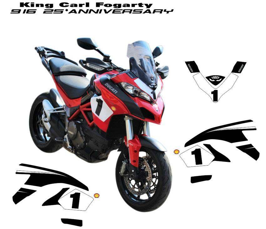 Motorrad Aufkleber passend für Ducati 916