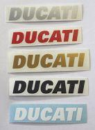 Aufkleber Ducati Verkleidung vorne 65x10mm