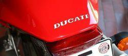 Aufkleber Ducati 92x9mm