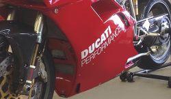Aufkleber Ducati Performance 360mm