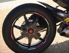 Sticker set wheel trim tricolore