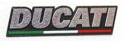 Sticker shield Ducati 3D