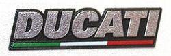 Aufkleber Schild Ducati 3D