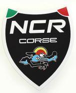 Aufkleber NCR corse Schwarz