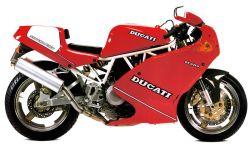 Aufkleberset Ducati 900 SS Superlight
