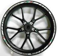 Sticker Ducati 1199 Panigale rim set for both wheels
