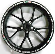 Aufkleber Felgenrand Ducati 1199 Panigale Satz für beide Räder