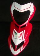 decal sticker kit headlight fairing for Ducati Hypermotard
