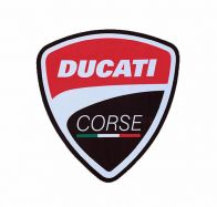 Stickers Ducati corse 105x115mm price for 1 piece sticker kit side panels