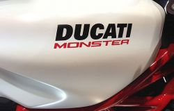 Sticker Ducati Monster z. B. on Monster Tank Set