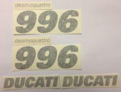 Aufkleber 996 Set Ducati original Aufkleber