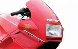 Aufkleber Ducati Schriftzug schwarz/silber/weiß 170x24mm