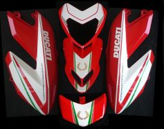 decal sticker kit Tricolore for Ducati Hypermotard 796 1100