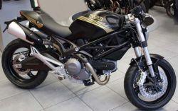 Aufklebersatz Darmah Look gold für Ducati Monster 696 796 1100