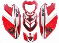 Aufklebersatz Corse für Ducati Hypermotard