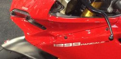 Sticker 1299 Panigale S in aluminium price for 1 piece