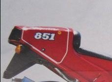 851 SP2 Nummernfeld Heck Satz