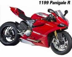 decal sticker kit R Version brushed aluminium 899 1199 Panigal