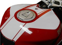 decal kit for tank Ducati 1199/899 Panigale white