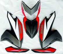 Decal Sticker set for Ducati Hypermotard 821