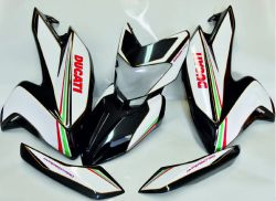 Decal Sticker set tricolore for Ducati Hypermotard 821