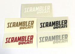 Aufkleber Scrambler Ducati 40x12mm