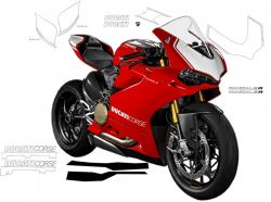 Sticker kit 1299 Panigale R