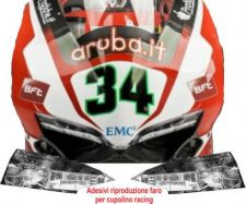 Decal kit front fairing light for Ducati 1299 Panigale