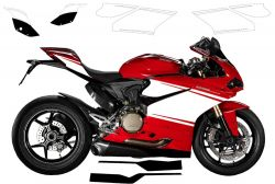 decal sticker kit Superleggera for Ducati Panigale 1299/959