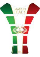 Tankpad Italia Tricolour 3D Gel