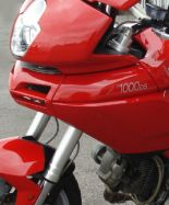Aufkleber 1000 DS silber Bj 2003-2005