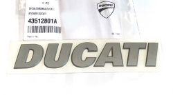 Aufkleber DUCATI 3D Tank Multistrada Bj 2013-2014
