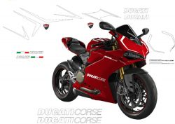 decal sticker kit look Panigale R for Panigale 959/1299