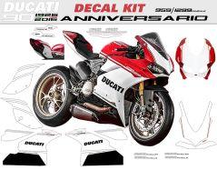 Aufkleber Ducati 90th Anniversary T.C. Ducati 1299 959 Panigale