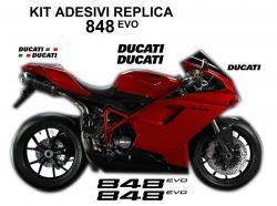 Aufkleber Set Ducati 848 EVO