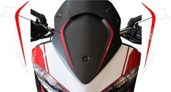 Adhesives for Ducati Multistrada 1200 DUCATICORSE stripes in red