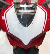 Decal kit white front fairing Look 1299 R