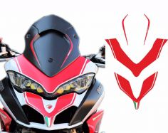 Adhesives red for Ducati Multistrada 1200