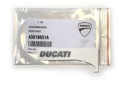 Aufkleber Ducati Hypermotard Front