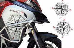 Aufkleber auf der Verkleidung Ducati multistrada 1200 enduro