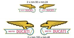 Adhesives Moto Ducati