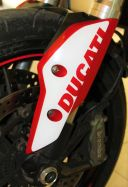 Front fender stickers kit for Ducati Hypermotard 821/939