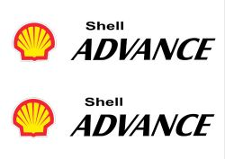 Shell Advance 13cmx 2,6cm